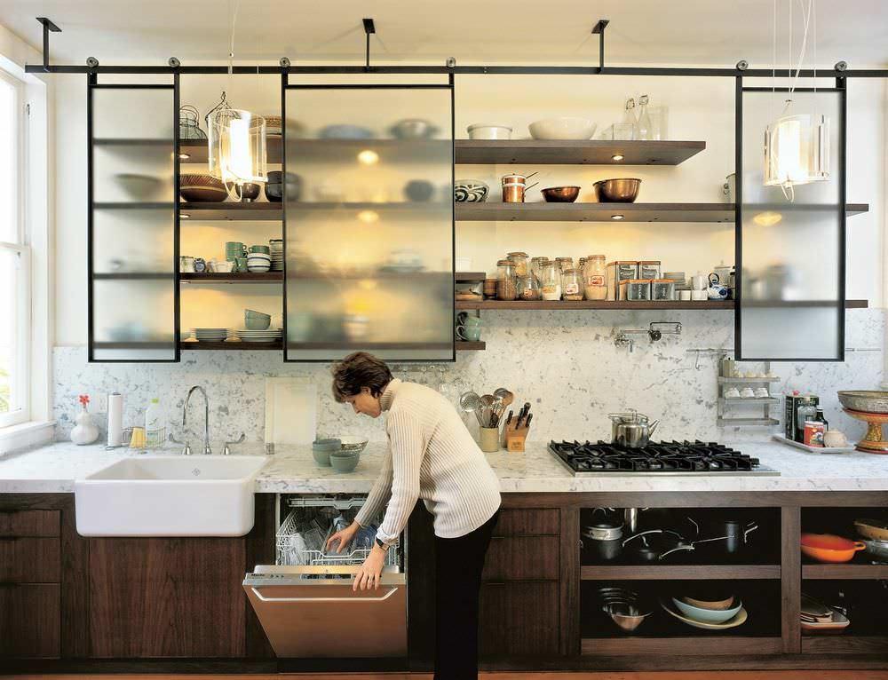 маленькая кухня решения
